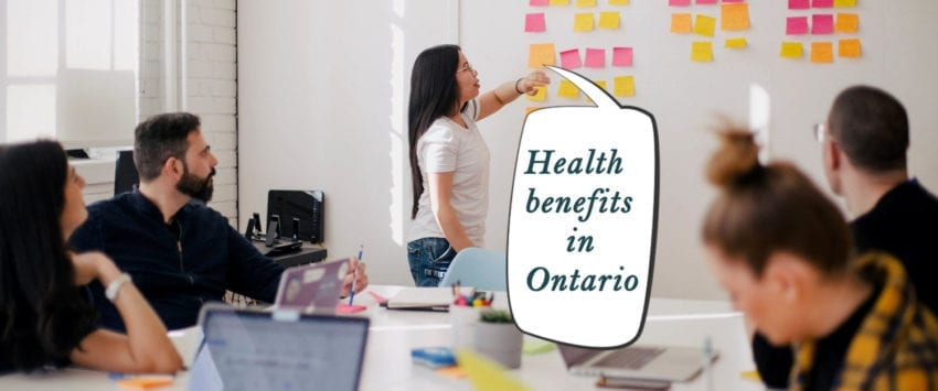 soni blog employee health benefits in ontario speeech bubble